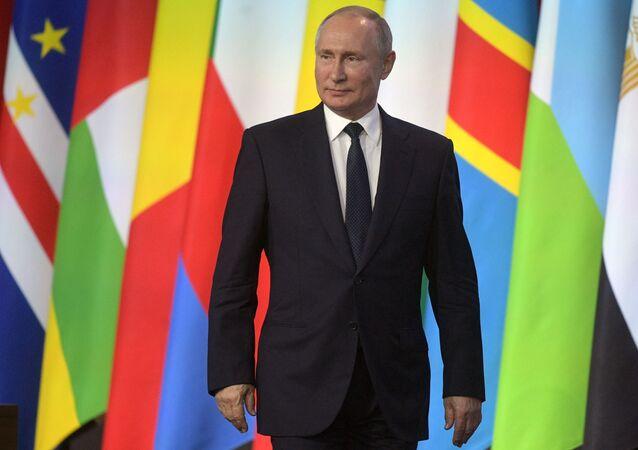 Vladimir Poutine au forum Russie-Afrique