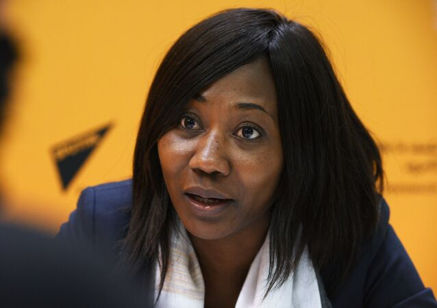 Ministre des Affaires étrangères de la Centrafrique Sylvie Baïpo-Temon