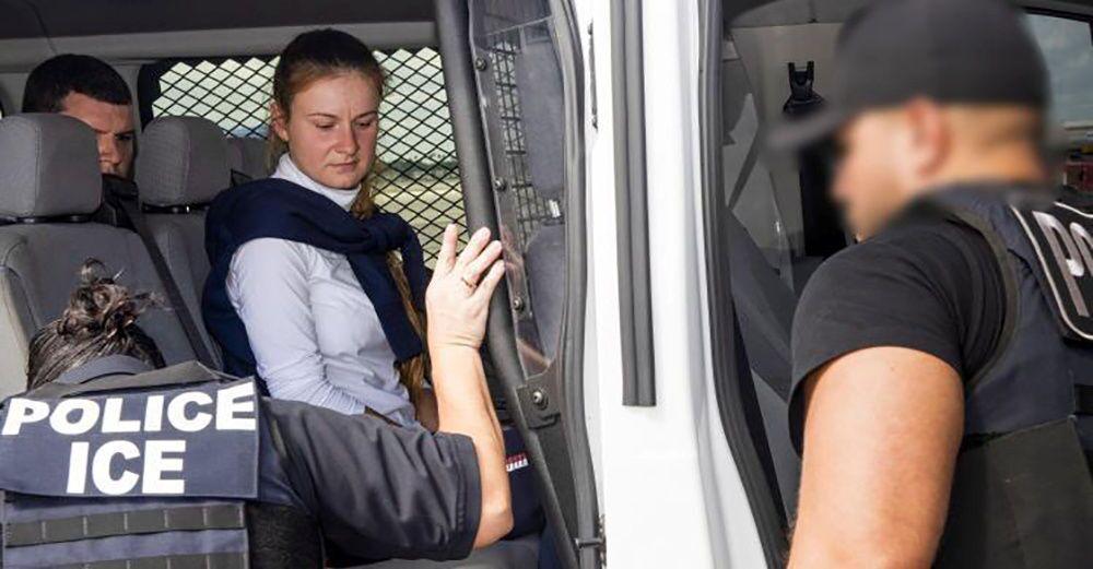 Maria Butina après sa libération