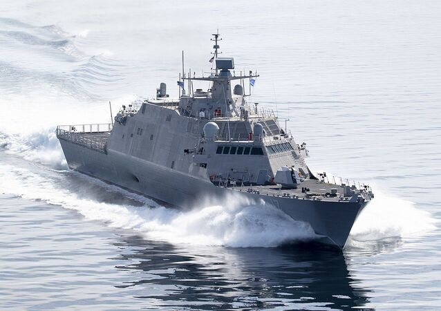 USS Indianapolis LCS 17