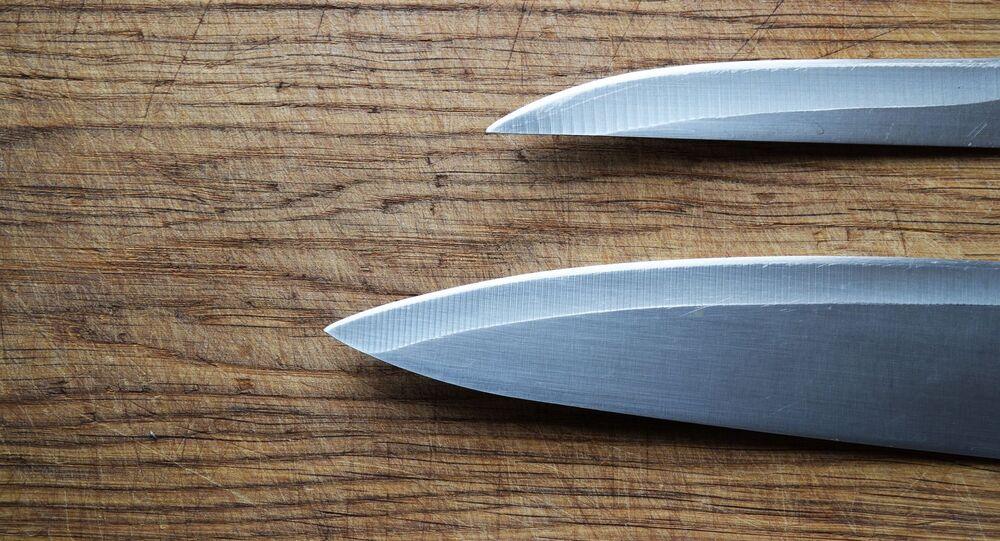 Couteaux (image d'illustration)