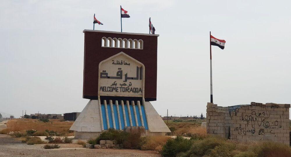 L'armée syrienne entre dans la ville de Raqqa