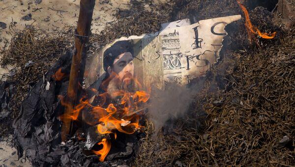 al-Baghdadi (image d'archive) - Sputnik France