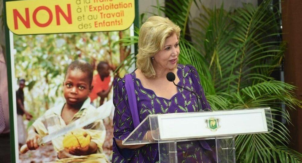 Mme Dominique Ouattara, Première dame de Côte d'Ivoire