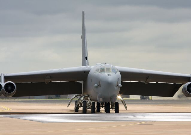Un B-52H à la base aérienne de Fairford (archive photo)