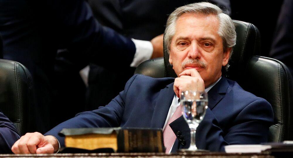 Alberto Fernandez, Président élu argentin