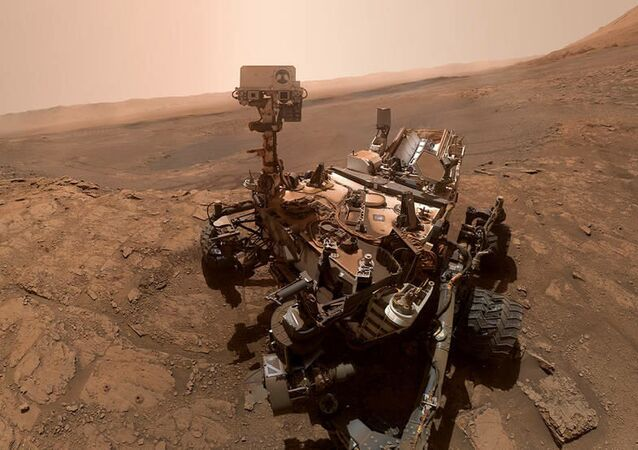 Le rover martien Curiosity, le 11 octobre 2019 (archive photo)