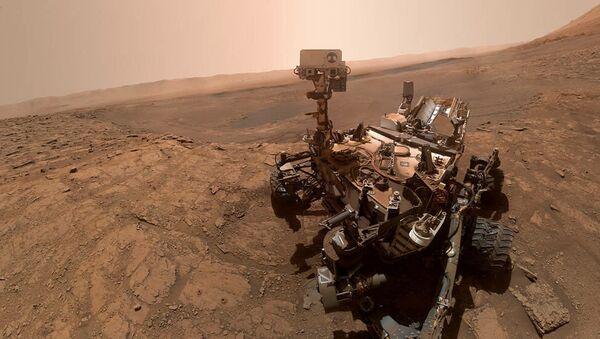 Le rover martien Curiosity, le 11 octobre 2019 (archive photo) - Sputnik France
