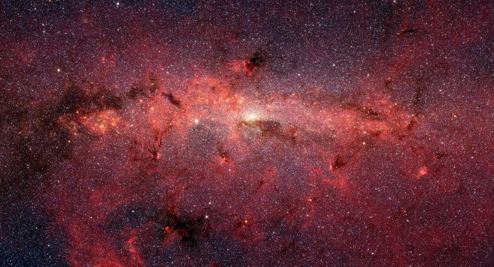 Zone centrale de la Voie lactée