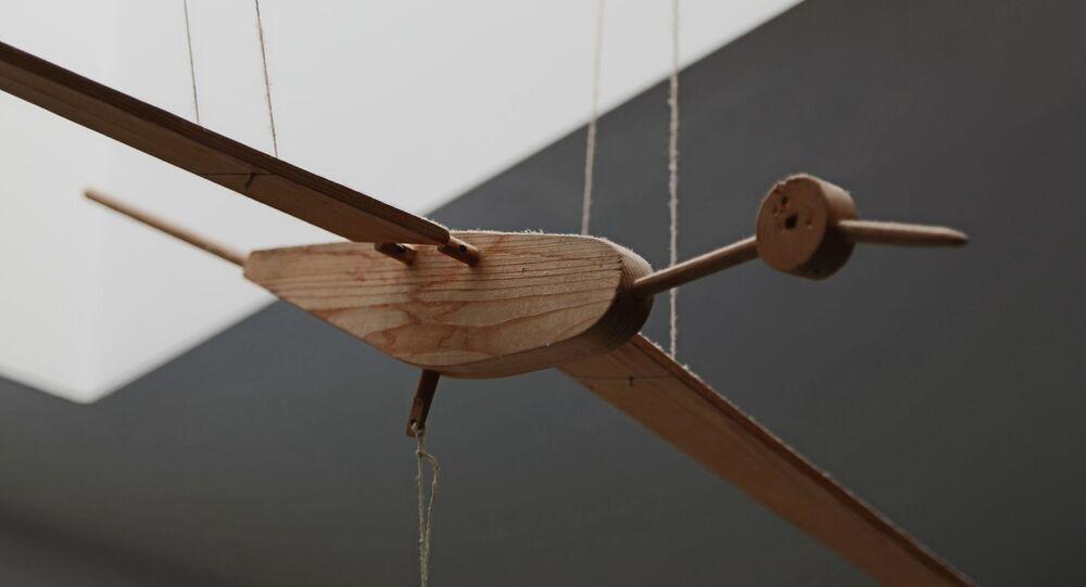 Un jouet en bois (image d'illustration)