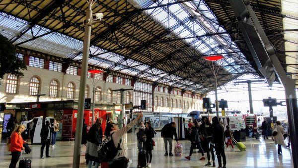 Concourse of Saint Charles Station, Marseille, France, in 2019 - Sputnik France