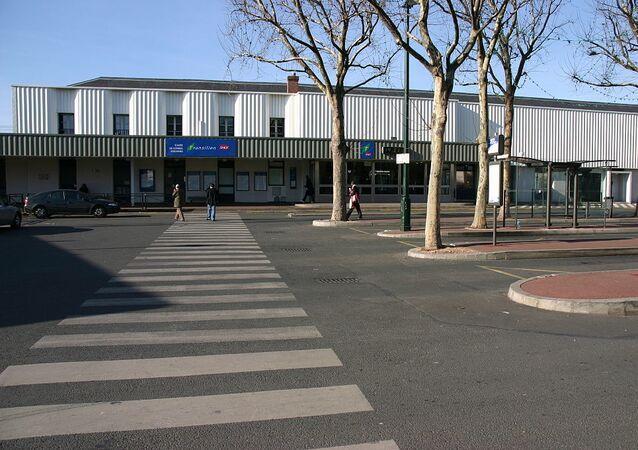 La gare de Corbeil-Essonnes, Corbeil-Essonnes, département de l'Essonne (France)