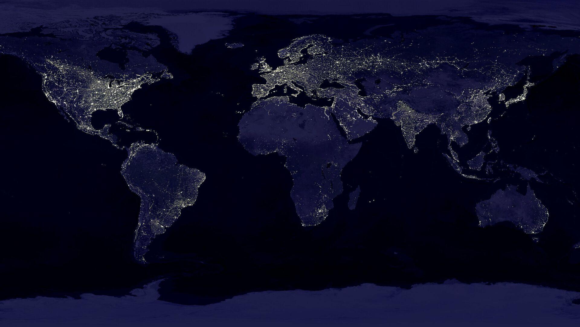 La Terre vue depuis l'espace - Sputnik France, 1920, 25.08.2021