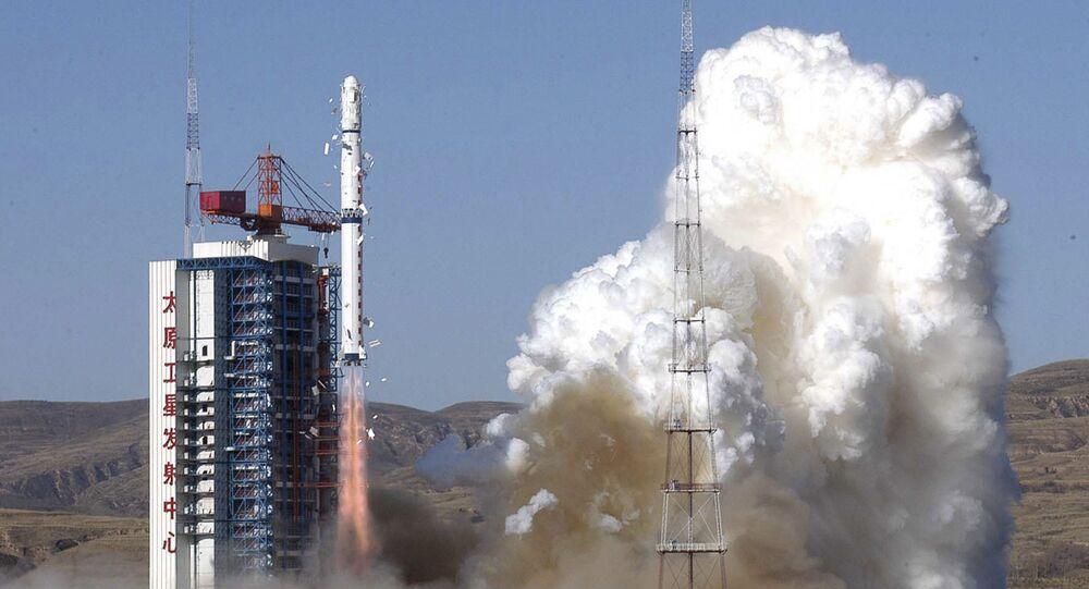 Lancement d'une fusée chinoise Longue marche 4B (image d'illustration)