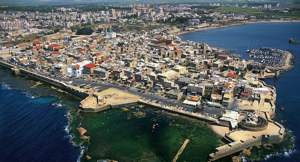 la ville d'Acre