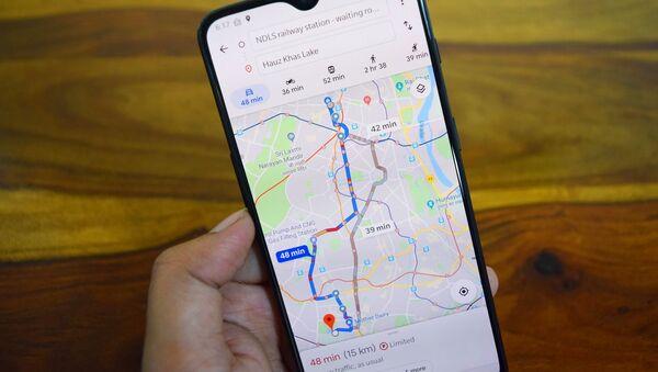 Google Maps - Sputnik France