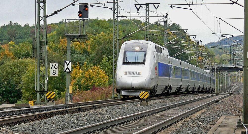 Un TGV, image d'illustration