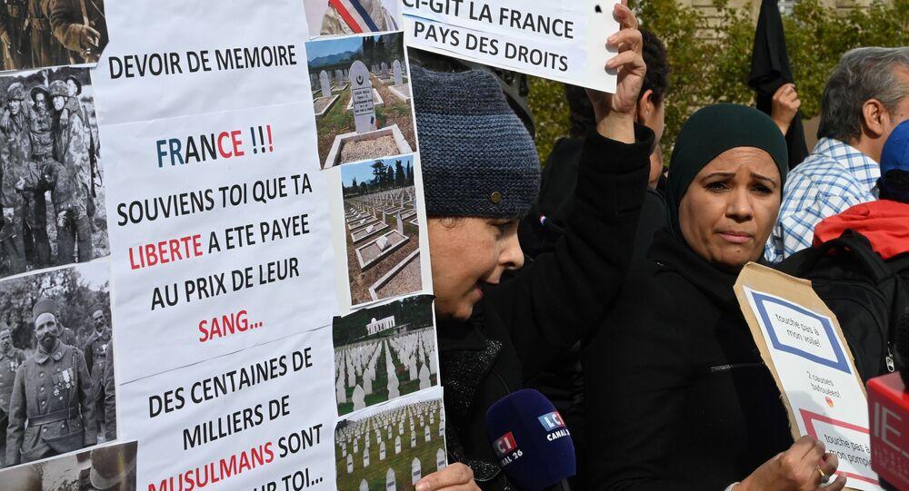 Musulmans de France contre l'islamophobie