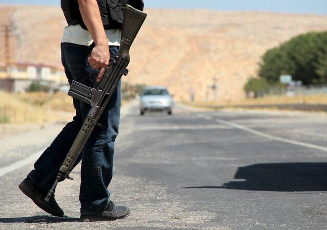 Un membre des forces de sécurité turques (archive photo)
