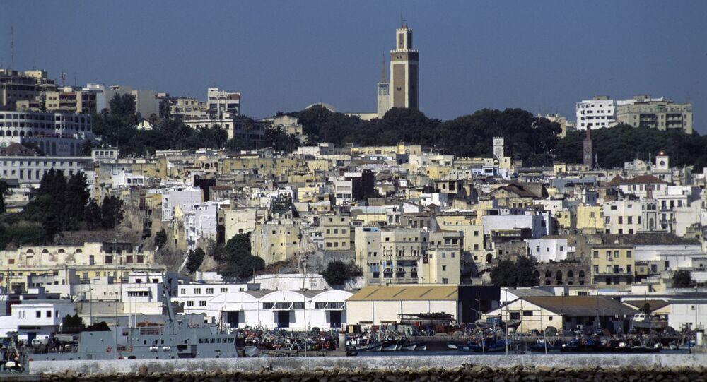 La ville de Tanger, vue de la mer