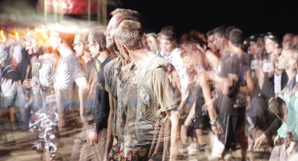 Une foule (image d'illustration)