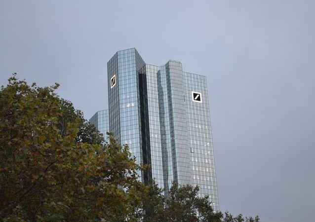 Le siège de la Deutsche Bank à Francfort-sur-le-Main