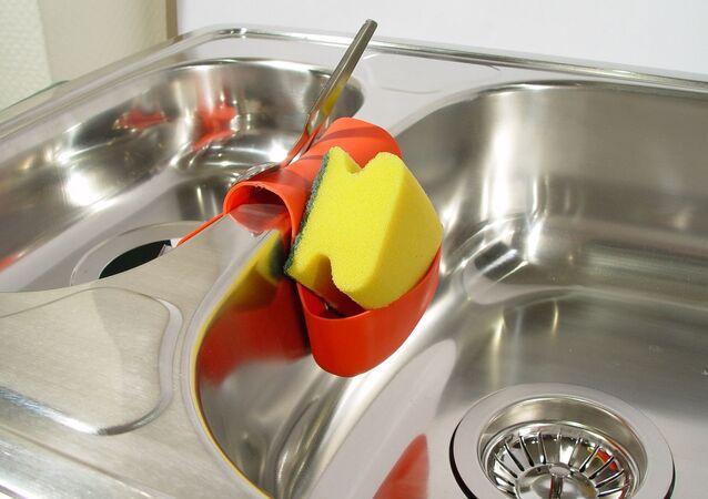 Éponge à vaisselle