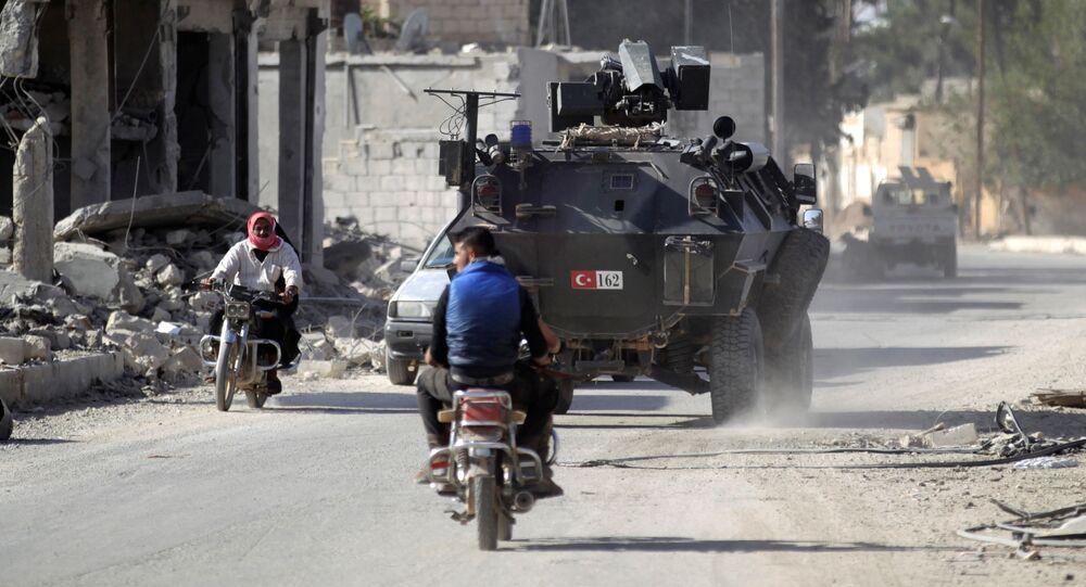 La ville syrienne d'Al-Raï (archive photo)