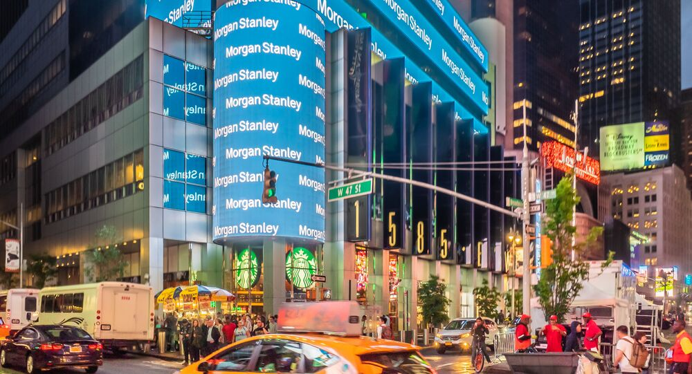 Le QG de la banque Morgan Stanley à New York