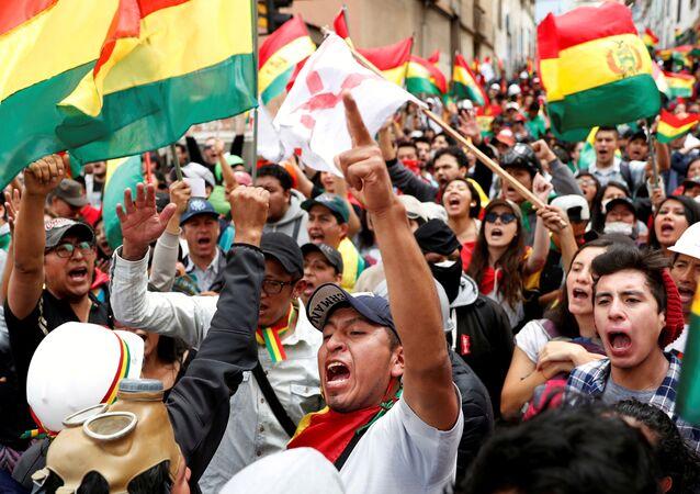 Manifestations en Bolivie