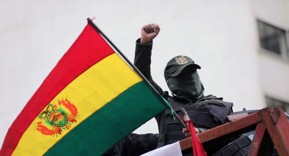 Protestations en Bolivie