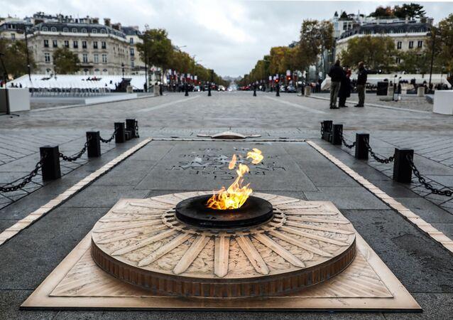 La France commémore le 101e anniversaire de l'Armistice