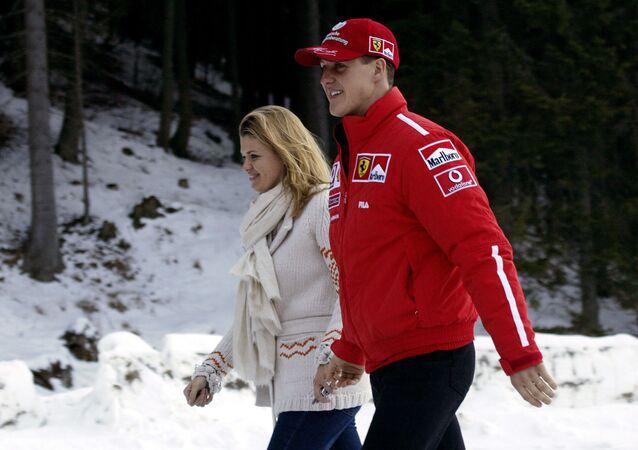 Michael Schumacher et sa femme Corinna