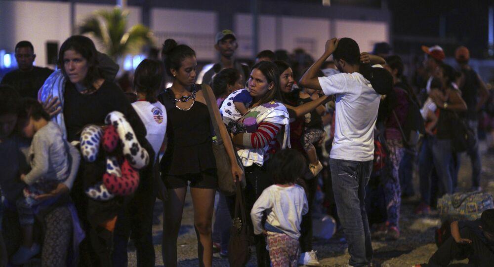 Migrants vénézuéliens