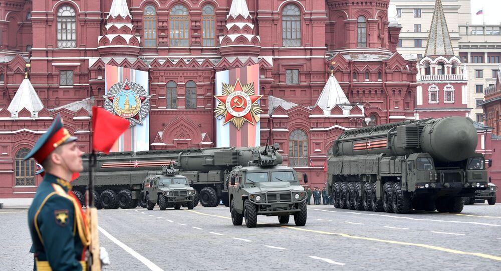 Défilé de la Victoire à Moscou