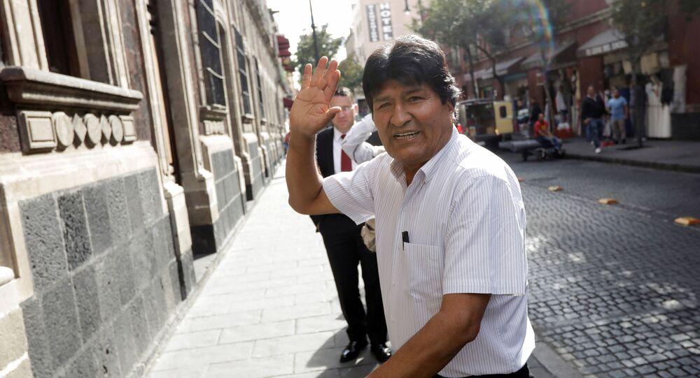 Evo Morales à Mexico