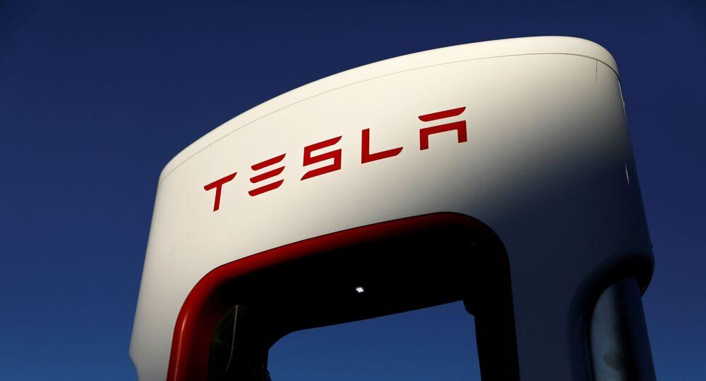 Le logo de Tesla