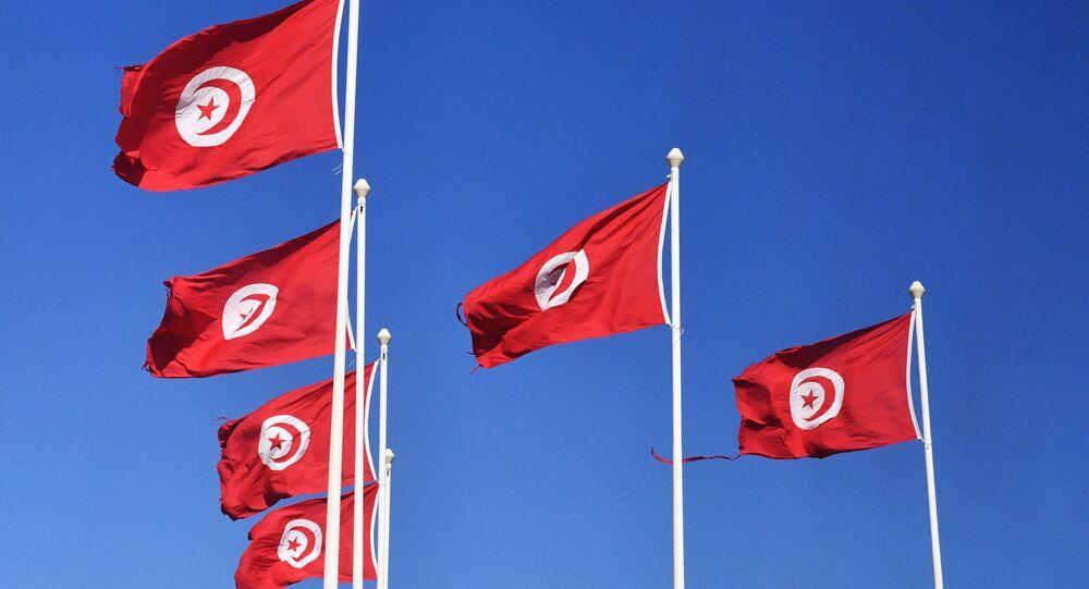 Drapeaux tunisiens