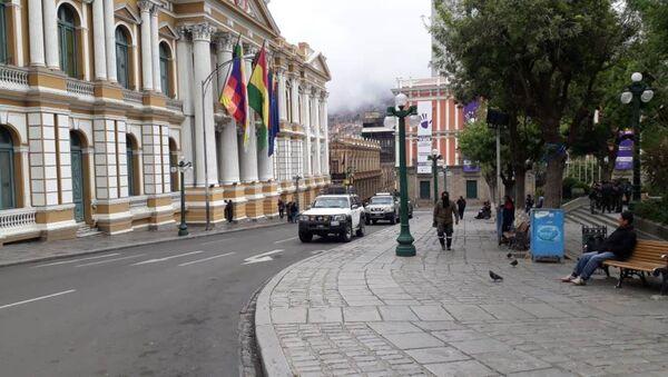 Le siège de l'Assemblée législative à La Paz - Sputnik France