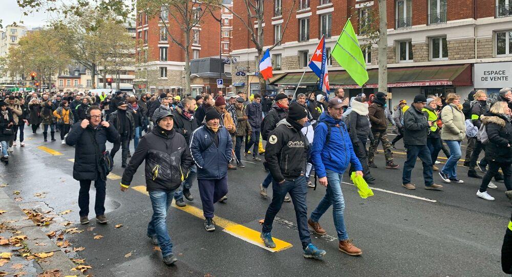 Acte 53 des Gilets jaunes à Paris, 16 novembre 2019