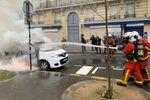pompiers acte 53 Gilets jaunes Paris 16 novembre 2019