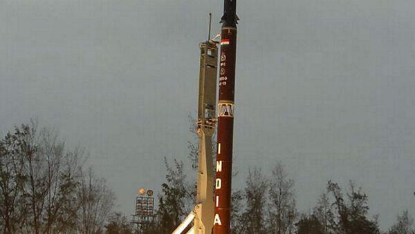 Tir d'un Agni-II - Sputnik France