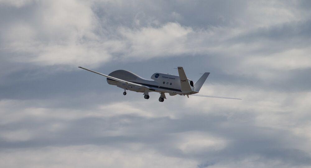 Un drone Global Hawk (image d'illustration)
