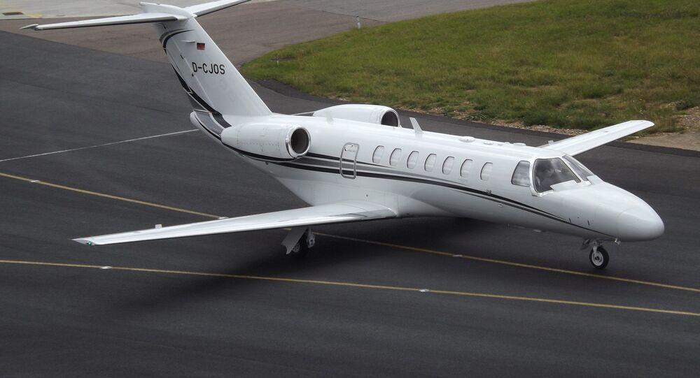 Un Cessna Citation CJ3 (image d'illustration)