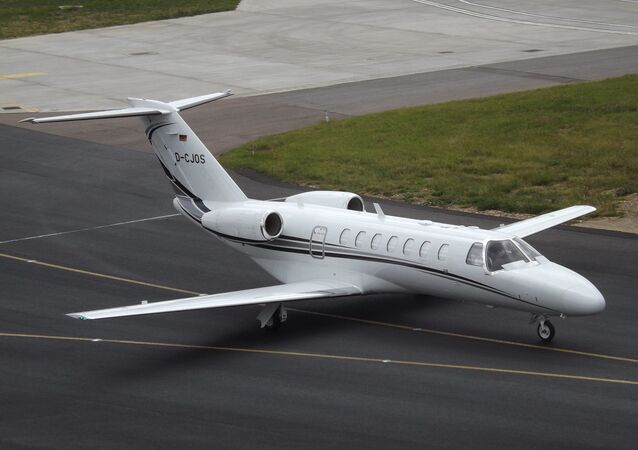 Un Cessna Citation CJ3 (image d'illustration)
