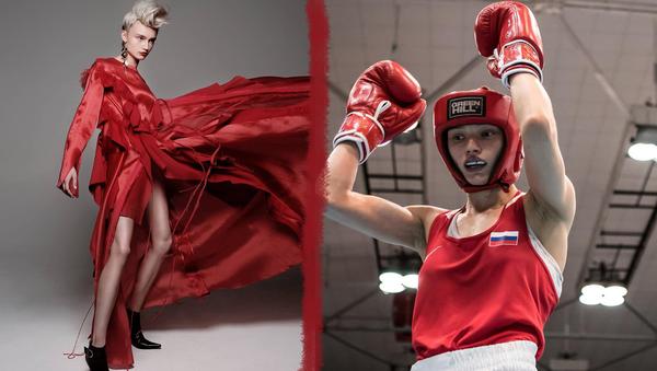 Svetlana Soluyanova, championne d'Europe 2018 de boxe féminine et double championne de Russie - Sputnik France