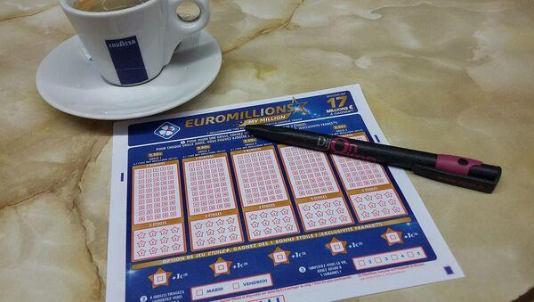 Un ticket de loto - Sputnik France
