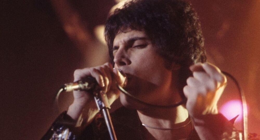 Freddie Mercury en 1977