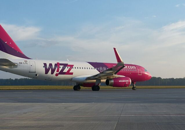 Un avion Wizz Air