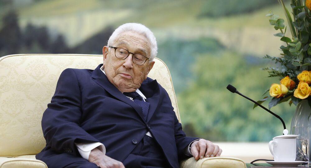 Henry Kissinger (photo d'archives)